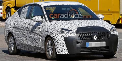 2018 Opel Corsa sedan spied