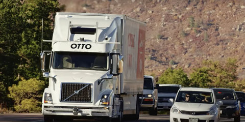 Uber ends self-driving truck development - report
