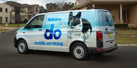 Subaru rolls out mobile servicing vans
