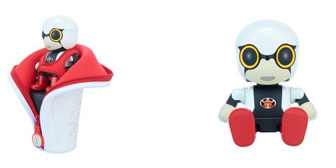 Toyota Kirobo Mini: cupholder-friendly companion robot launched in Japan