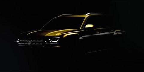 2017 Volkswagen Atlas teased in new video