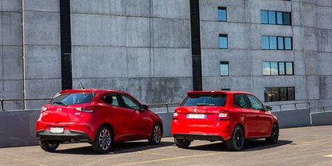Mazda 2 Genki v Skoda Fabia Monte Carlo comparison