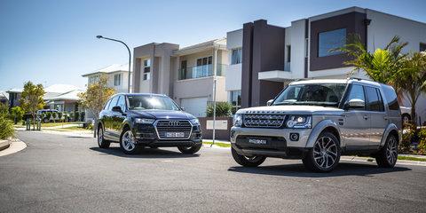 2017 Audi Q7 v 2016 Land Rover Discovery comparison