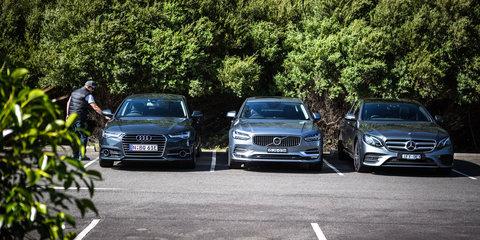 Luxury diesel sedan comparison: Audi A6 v Mercedes-Benz E220d v Volvo S90