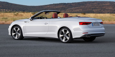 2017 Audi A5, S5 Cabriolets revealed