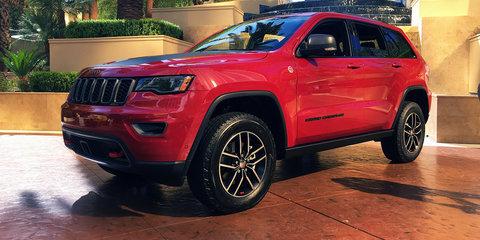 2017 Jeep Grand Cherokee Trailhawk:: Diesel engine for Australia, petrol not confirmed