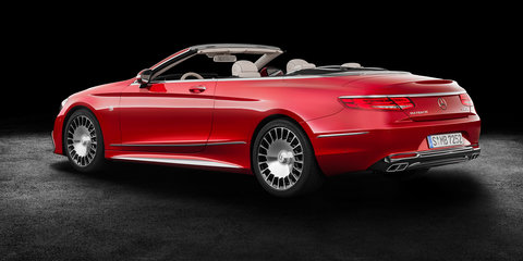 2017 Mercedes-Maybach S650 Cabriolet: Ultimate S-Class drop-top revealed, 10 for Australia