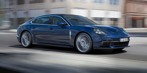 2017 Porsche Panamera and Panamera 4 on sale in Australia: New entry option hits local range