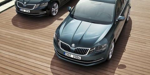2017 Skoda Octavia facelift revealed further, RS performer rendered
