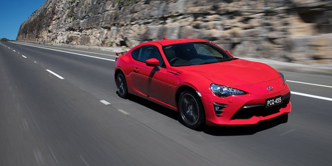 2017 Toyota 86 pricing and specs: Updated sports car now on sale in Australia