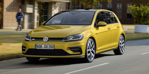 2017 Volkswagen Golf '7.5' revealed: Mid-year launch for tech-boosted German