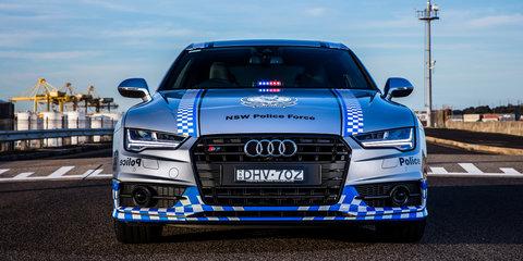 Audi S7 Sportback, BMW i8 to boost police profile