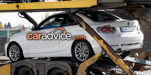 2018 BMW 2 Series facelift spied