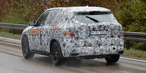 2018 BMW X5 spied in X1-inspired production body