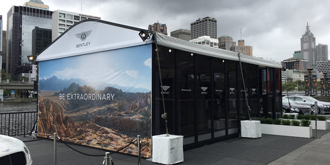 Bentley 'Be Extraordinary' tour kicks off in Melbourne, introduces financing options