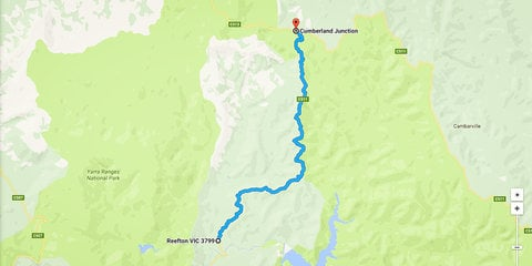 Top driving roads around Melbourne: Reefton Spur
