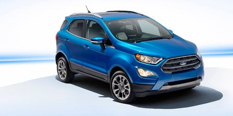 2018 Ford EcoSport facelift Escapes LA: New-look compact SUV in Oz next year
