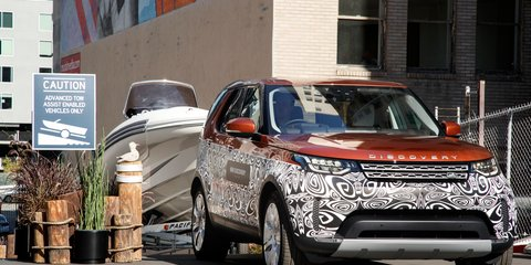 2017 Land Rover Discovery to introduce Advanced Tow Assist: Trailer work for beginners
