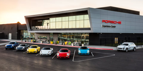 """Porsche opens $60mil LA Experience Centre with test track: Local arm """"absolutely"""" keen"""