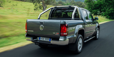 2017 Volkswagen Amarok V6 pricing and specs