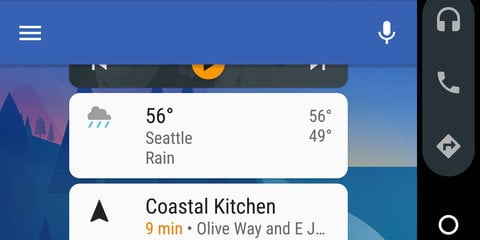 Android Auto skips the in-car display with new update
