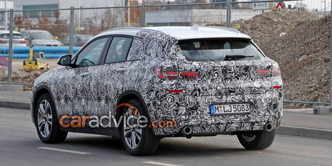 2018 BMW X2 spied with less camouflage