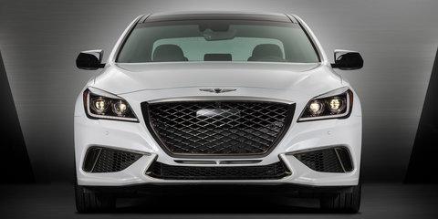 2017 Genesis G80 3.3T Sport:: twin-turbo sedan detailed