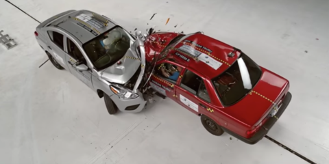 Nissan Tsuru v Nissan Versa: Global NCAP crash test demonstrates concerns in developing markets