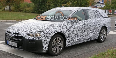 2018 Holden Commodore Sportwagon spied again