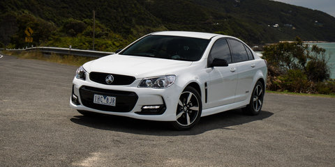 2016 Holden Commodore SV6 Black Edition review