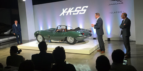 Jaguar XKSS:: First of ten $1.65m revived classics debuts in LA