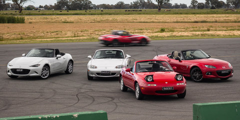Mazda MX-5 Generations: NA to ND driven