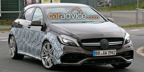 Mercedes-AMG A45 to get a new, more powerful engine in next generation.