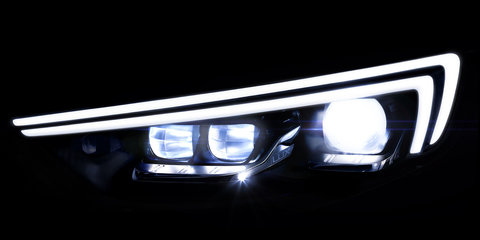 2018 Holden Commodore teased as Opel details new LED matrix headlights