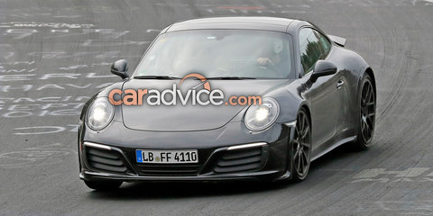 2018 Porsche 911 development mule spied again
