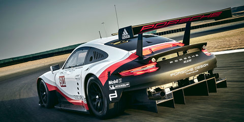 2017 Porsche 911 RSR endurance race car revealed
