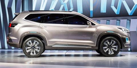 Subaru Viziv-7 concept previews new seven-seat SUV