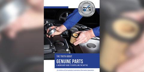 Australian insurer commits to genuine parts message