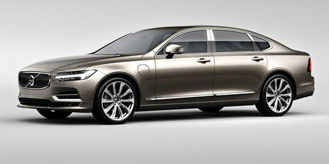 Volvo S90 Excellence, S90 L revealed in China