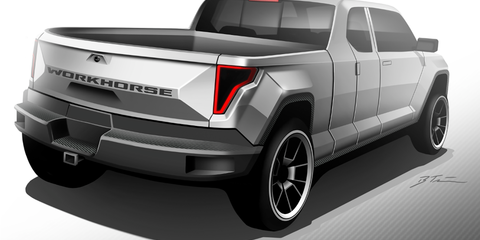 Workhorse W-15 PHEV ute detailed with 128km all-electric range