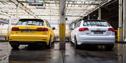 Audi S3 Sportback Old v New: 2017 Sportback v 2011 Black Edition