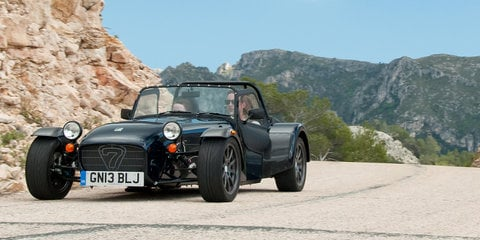 Caterham refreshes Seven range pricing for Australia