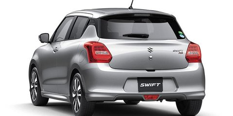 2017 Suzuki Swift revealed: New turbo engines and platform, sleeker design - UPDATE