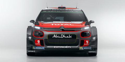 2017 Citroen C3 WRC revealed