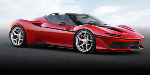 Ferrari J50: Special spider celebrates half century in Japan