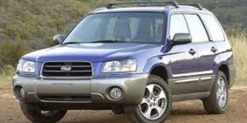 2003 Subaru Forester XS Luxury Review Review