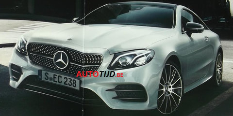 2017 Mercedes-Benz E-Class coupe revealed in leaked brochure