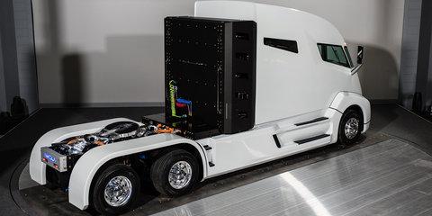 Nikola sues Tesla over Semi truck design