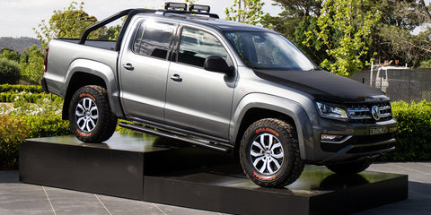 Volkswagen Amarok V6 debut drives accessories update