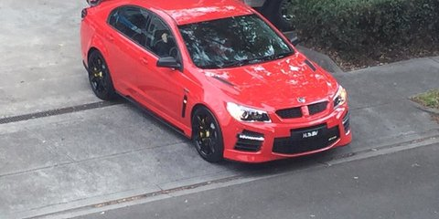 2017 HSV ute and sedan range spotted during production